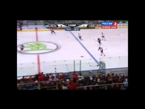 Чемпионат мира по хоккею 2014,Россия - США