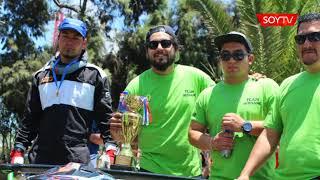 """Realizaron popular carrera de """"Autos Locos"""" por calle  Santiago Polanco en Iquique"""