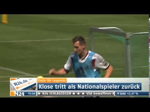 Miroslav Klose beendet DFB-Karriere