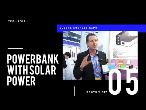 GS2015 WK1-BV#05- Power bank using solar power