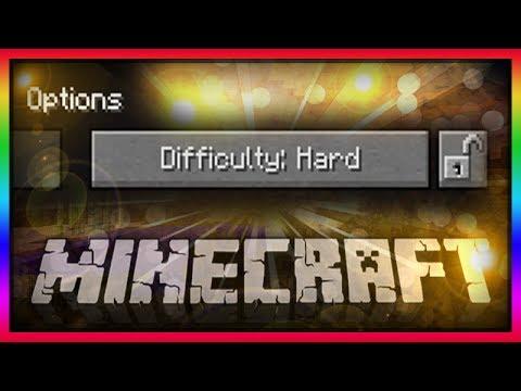 MineCraft 1.8 Snapshot: Lock Difficulty Levels!