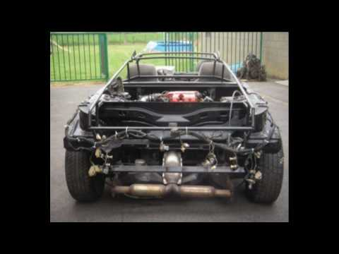 Lamborghini Diablo 6.0 Replica Kitcar Part 1