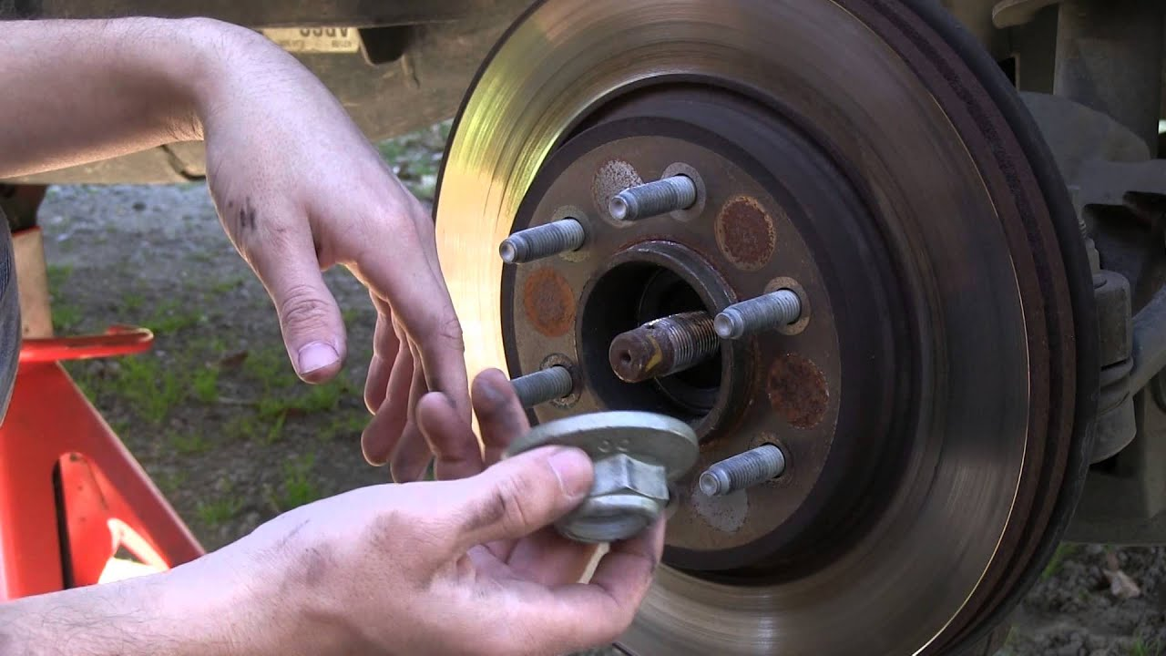 F 150 Front Brake And Rotor Replacement Part 1 Youtube