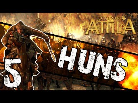 Total War: Attila - Huns Campaign #5 ~ Birth of Attila!