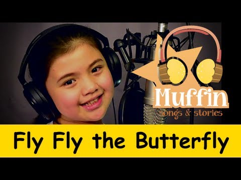 Muffin Songs - Fly fly the Butterfly | nursery rhymes & children songs with