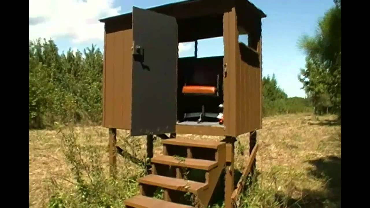 Easy Deer Blind Plans Pictures To Pin On Pinterest Pinsdaddy