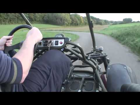 Buggy Bugxter PGO 150 - Jura country ride