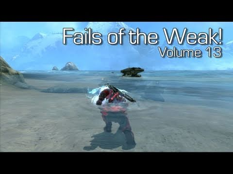 Halo: Reach - Fails of the Weak Volume 13 (Funny Halo Bloopers and Screw-Ups!)