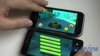 Optimus 2x Game Expirience Demo (against Samsung Galaxy S)