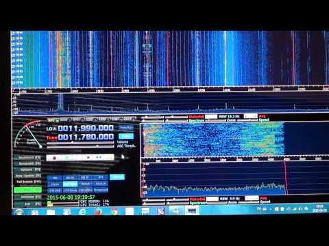 Radio Nacional Amazonas Brazil 11780 Khz on soft66rtl SDR