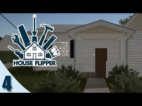 HOUSE FLIPPER #4 - COLOCANDO MUROS Y RESTAURACIONES 100%   GAMEPLAY ESPAÑOL