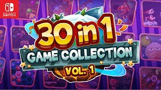 30-in-1 Game Collection: Volume 1 (Nintendo Switch) - Trailer by Teyon