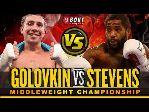 SHOCK!! Powerful Punch | Gennady Golovkin GGG VS Curtis Stevens | Full Fight | 02-11-2013