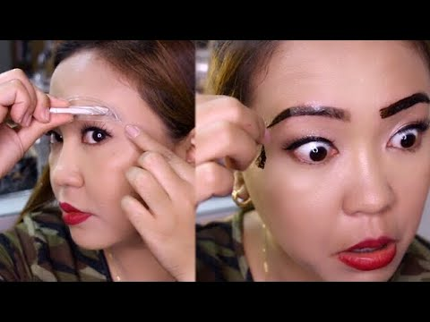 Eyebrow STAMP VS TINT First Impression REVIEW!