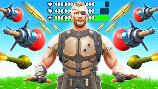 1500HP JUGGERNAUT in BATTLE ROYALE (Fortnite)