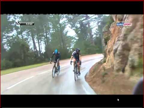 Criterium International & Chris Froome's attack