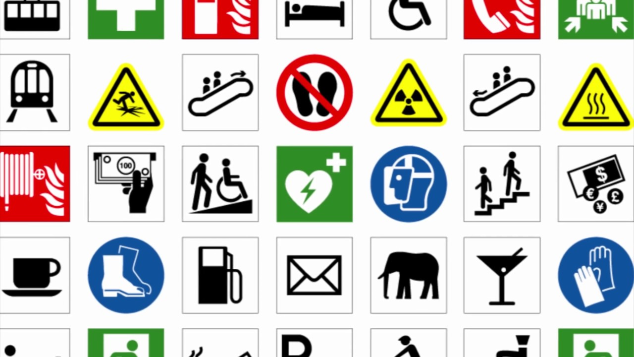 ISO Symbols for Safety Signs and Labels - YouTube