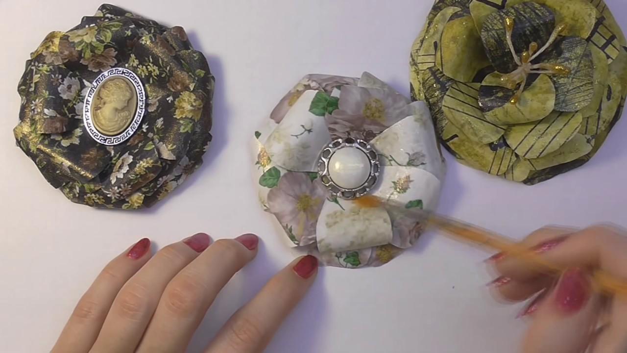 Цветок органзРаспиловочные столСухоцвет своими руками
