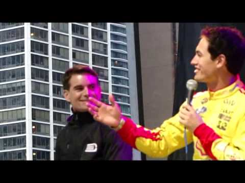 Jeff Gordon at the NASCAR Chase Grid Q&A 2014