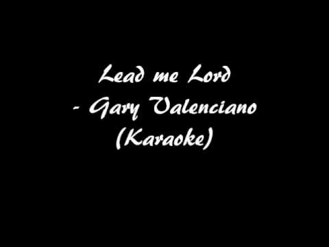 Lead Me Lord - Karaoke video