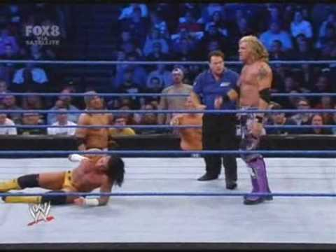 SmackDown! (25/01/2008) - Cm Punk VS Edge Video