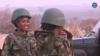 With High Moral, See How They Carry out Their Duties; Nigerian Army Women In Combat