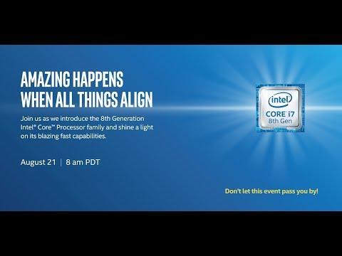 Intel 8th Generation Coffee Lake Keynote Presentation - Live Stream Press Conference