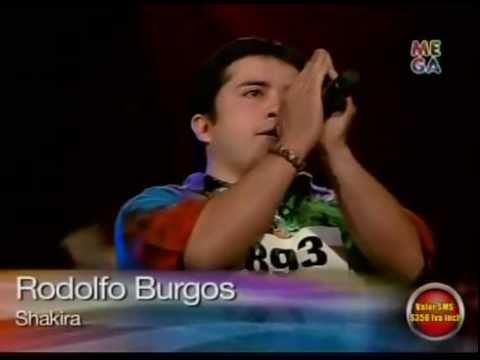 Rodolfo Burgos cantando como Shakira (el parecido es sorprendente)