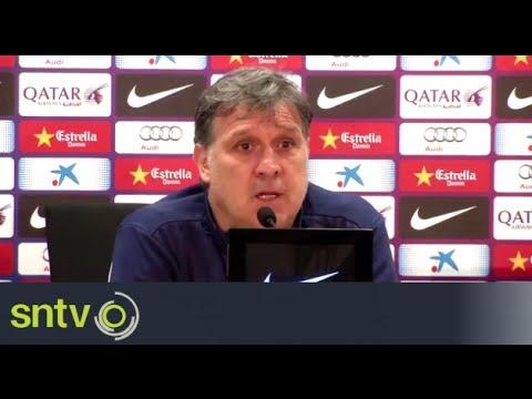 Barca are having poor season - Gerardo Martino
