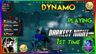 DYNAMO playing DARKEST NIGHT 1st Time || Zombie mode with HYDRA || Highlight #32