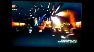 Eurovision 2012 Turkey Can Bonomo - Love Me Back