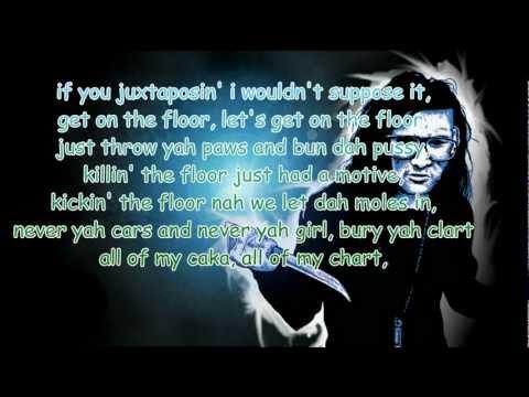 Skrillex & Damian Marley -- Make It Bun Dem Lyrics 1080p (2012)