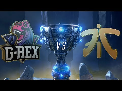 GRX vs FNC   Worlds Group Stage Day 4   G-Rex vs Fnatic(2018)