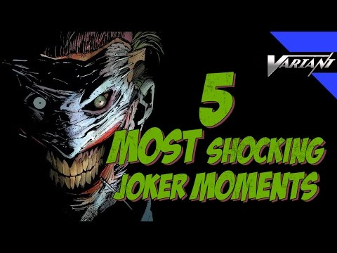 5 Most Shocking Joker Moments! #1