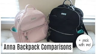Lily Jade Anna Backpacks | Comparison + Pack with Me