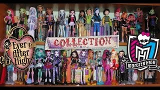 Ever After High & Monster High Doll Collection 2016 (ITA) - La mia collezione