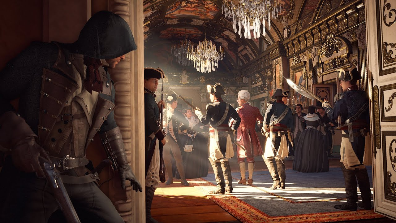 ac Unity New Gameplay Assassin's Creed Unity