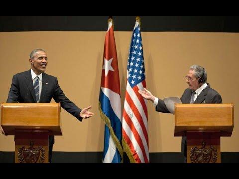 Obama And Raúl Castro Spar Over Human Rights
