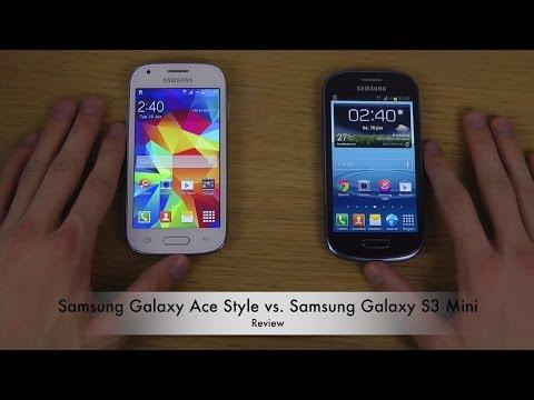 Samsung Galaxy Ace Style vs. Samsung Galaxy S3 Mini