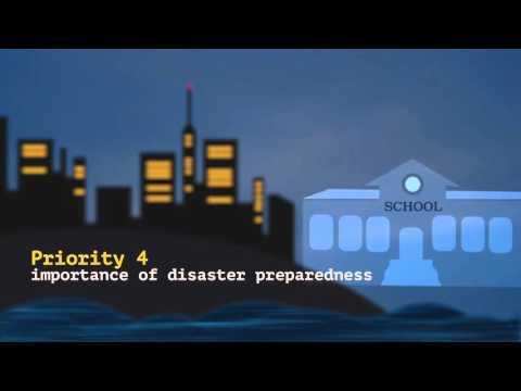 The Sendai Framework for Disaster Risk Reduction
