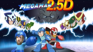 MEGA MAN 2.5D [NEW FAN-MADE GAME] - 50,000 Subscribers Party!! [LIVE]