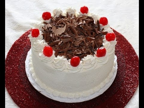 easy eggless black forest cake recipe