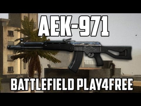 Battlefield Play4free AEK-971 Gun Review