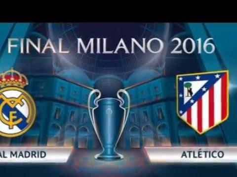 Final UCL 2016 Berbau Mistis, Derby Madrid Terulang Kembali (Real Madrid Vs Atletico MadriD))