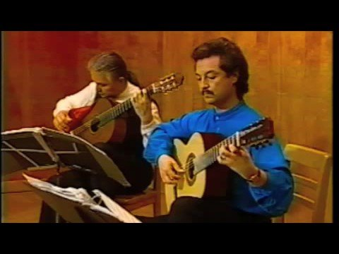 Odeum Guitar Duo - Ferdinand Carulli - Serenade in G major - 2nd&3rd movts.