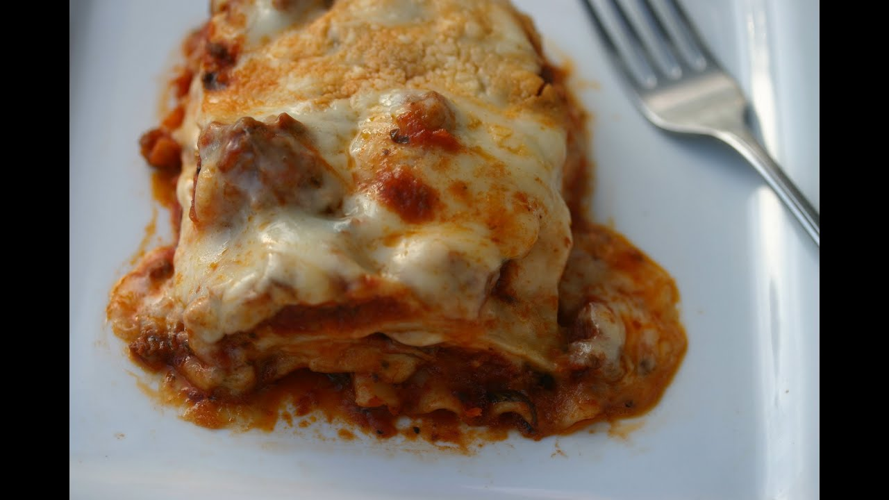 Ground Beef, Caramelized Onion, And Spinach Lasagna Recipes ...
