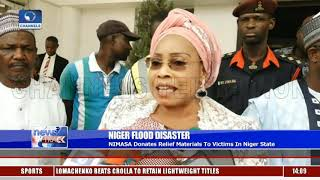 Niger Flood: NIMASA Donates Relief Materials To Victims