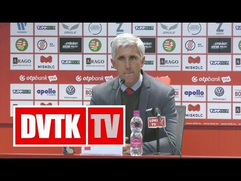 Vitelki Zoltán értékelése   DVTK - DVSC   2020. február 8.   DVTK TV