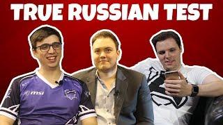 TRUE RUSSIAN TEST - DOTA 2 (ft. AdmiralBulldog, Madara and SirActionSlacks)