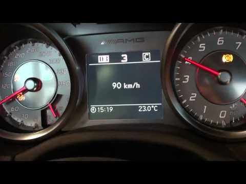 SLS max speed test. 339 km/h.Gearbox test.